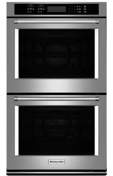 """KitchenAid 30"""" Double Electric Wall Oven"""