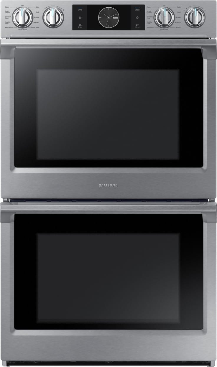 """Samsung NV51K7770DS 30"""" 10.2 cu.ft Double Oven"""