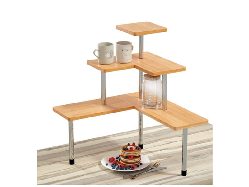 Breakfast Station with A Three-Tier Rack