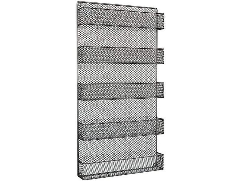 Home-Complete Spice Rack Over The Door Pantry Organizer