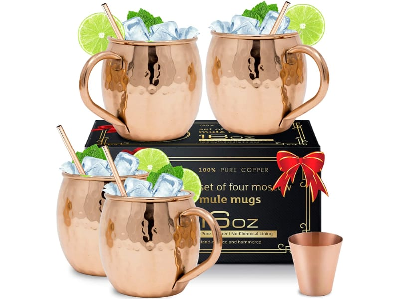 Moscow Mix Moscow Mule Copper Mugs