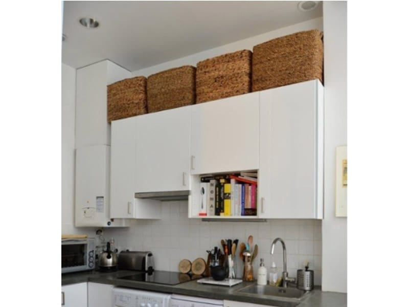 Place Special Occasion Kitchenware Over Cabinets