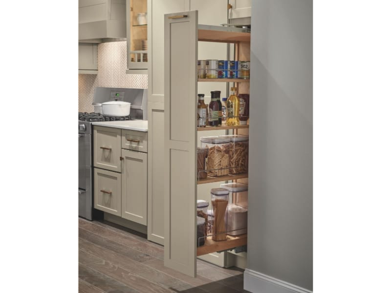 Optimize Narrow Spaces with a Sliding Pantry