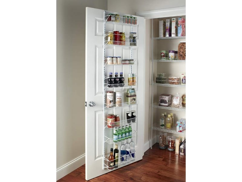 Try an Over the Door Pantry Storage
