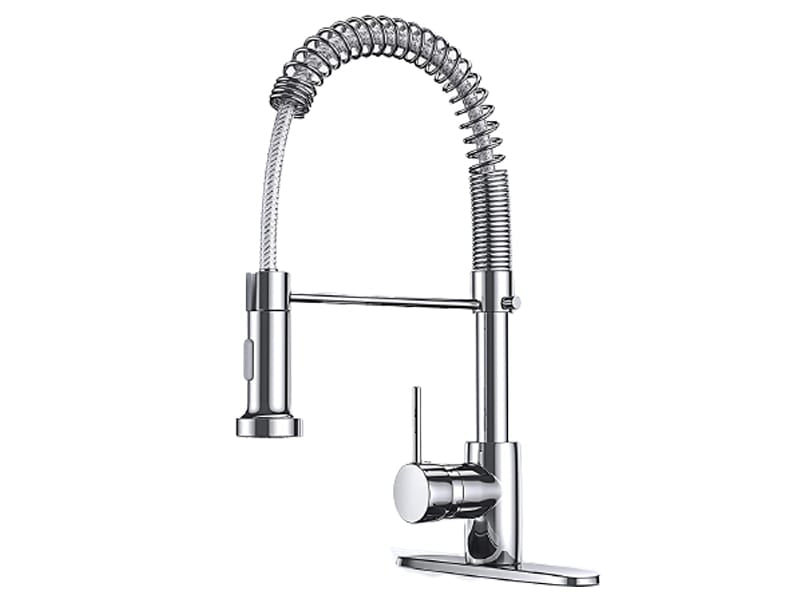 Deeroll Solid Brass Commercial Kitchen Faucet