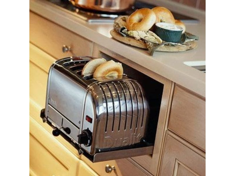 Tuck Away Toaster Zone  - Photo by Tomi Schlusz on Indulgy.com