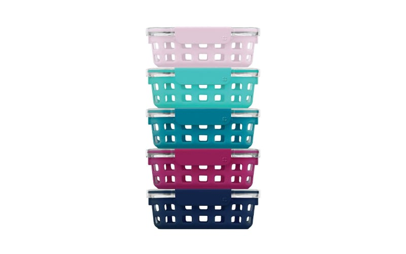 Ello Duraglass Glass Food Storage Meal Prep Containers