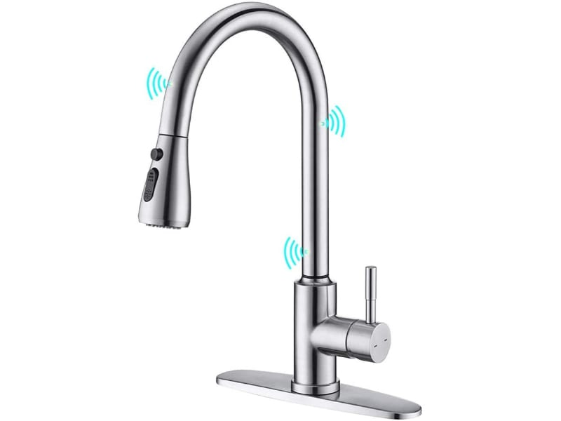 ARRISEA Touch-on Activation Kitchen Sink Faucets with Pull Down Sprayer