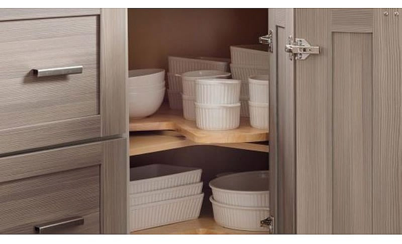 Create a Special Corner Cabinet for Bakeware