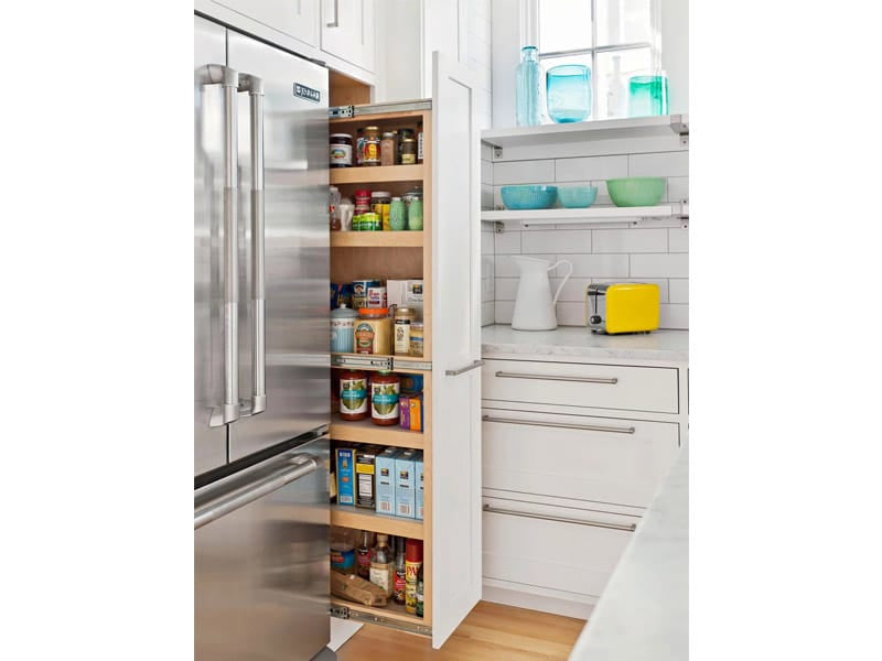 Pull-Out Pantry for Tight Spaces