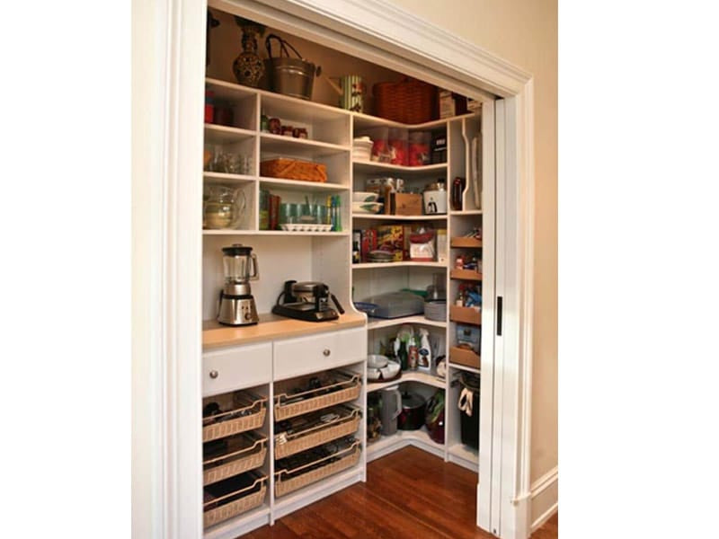 Barely-Used Closet to a Walk-in Pantry