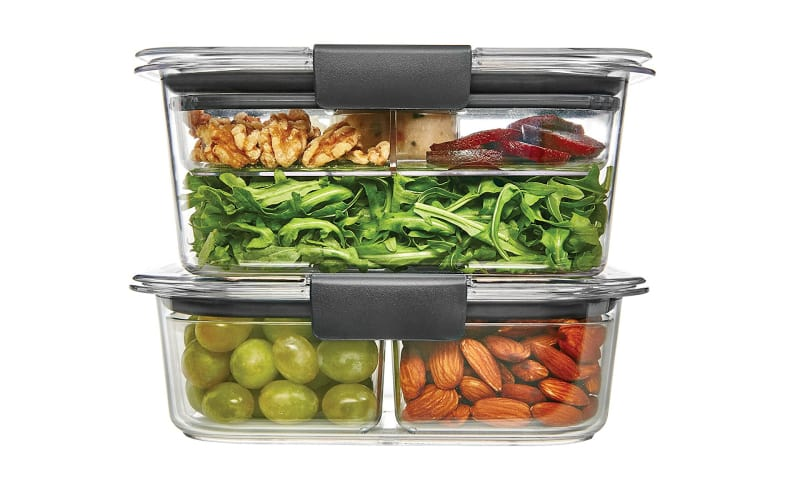 Rubbermaid Brilliance Stackable Food Storage