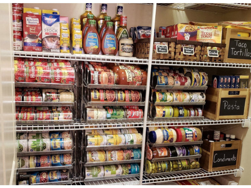 A Fully Stocked Pantry