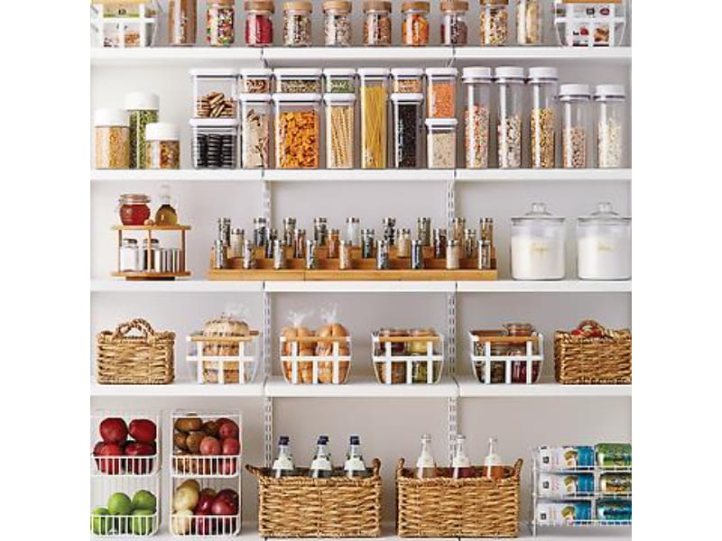 Create Zones in Your Pantry