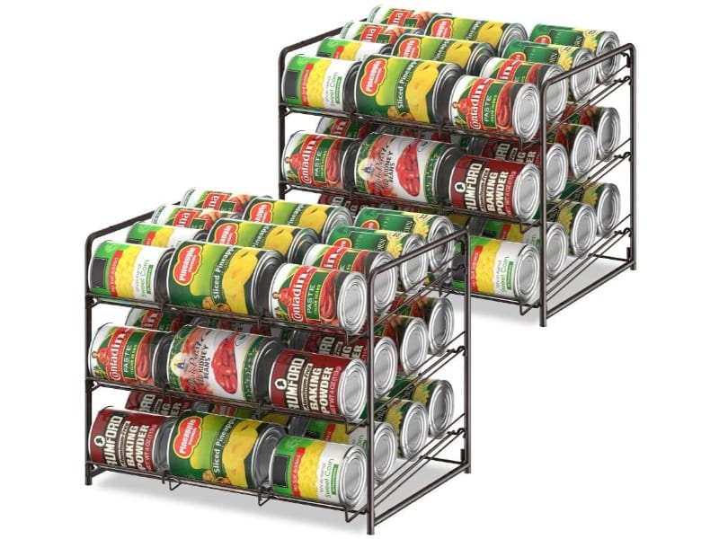 BTY Can Organizer Stackable 2 Pack