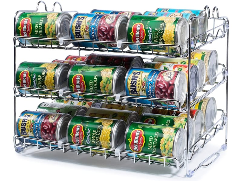 Che'mar Stackable Can Rack Organizer