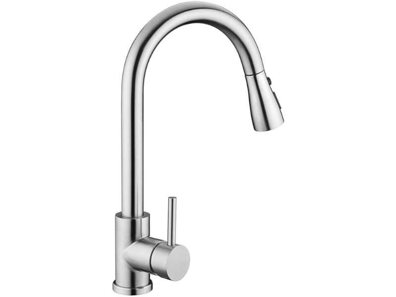 VFAUOSIT Brushed Nickel Commercial Kitchen Faucet