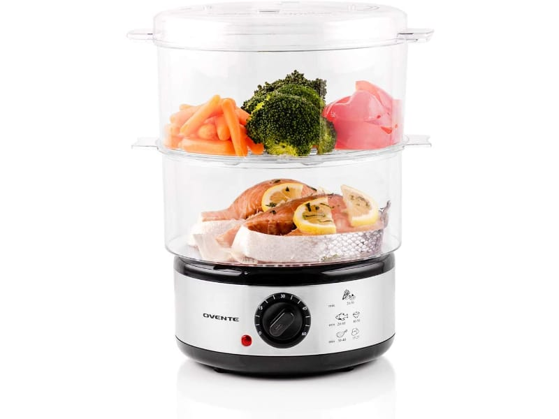 Ovente Electric Food BPA Free Steamer