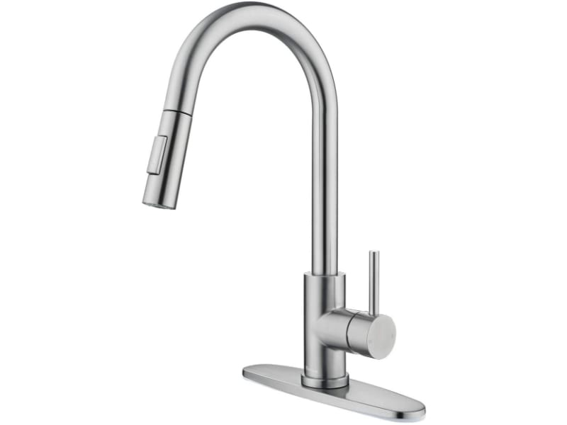 Tohlar Kitchen Sink Faucets with Pull-Down Sprayer