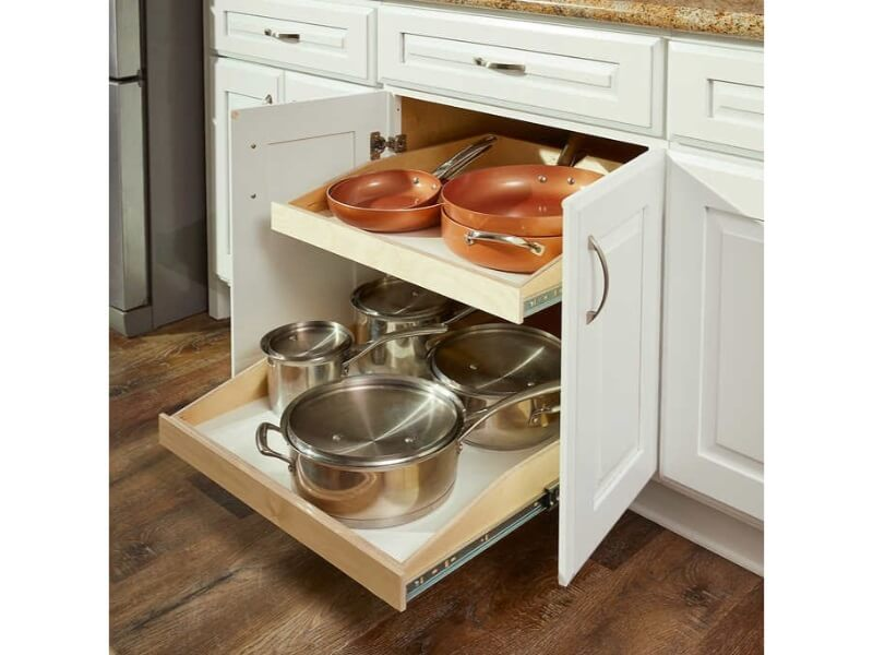 Deep Pull-Out Organizer
