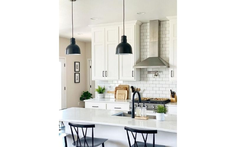 Homey Duo-Chromatic Kitchen - Image by @our.mn.dreamhome