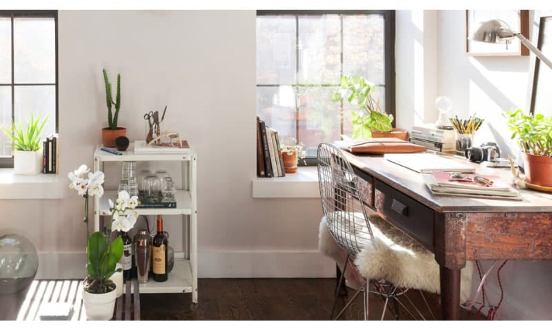 Use Window Sills for Small Item Storage or Display