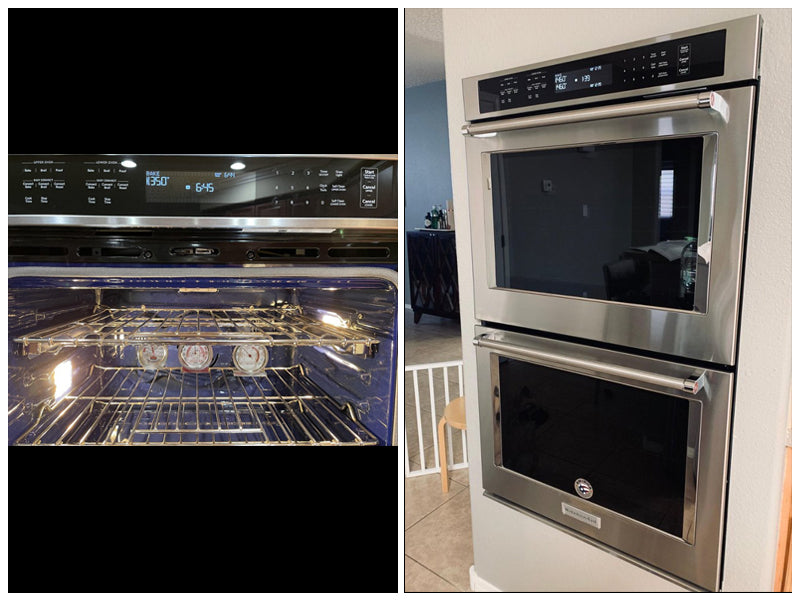 """KITCHENAID - 30"""" KODE500EBS DOUBLE WALL OVEN review"""