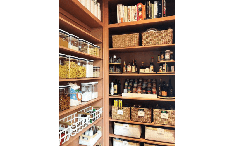 Lindsay's Kitchen Corner Cubby - Image by homemade.charm