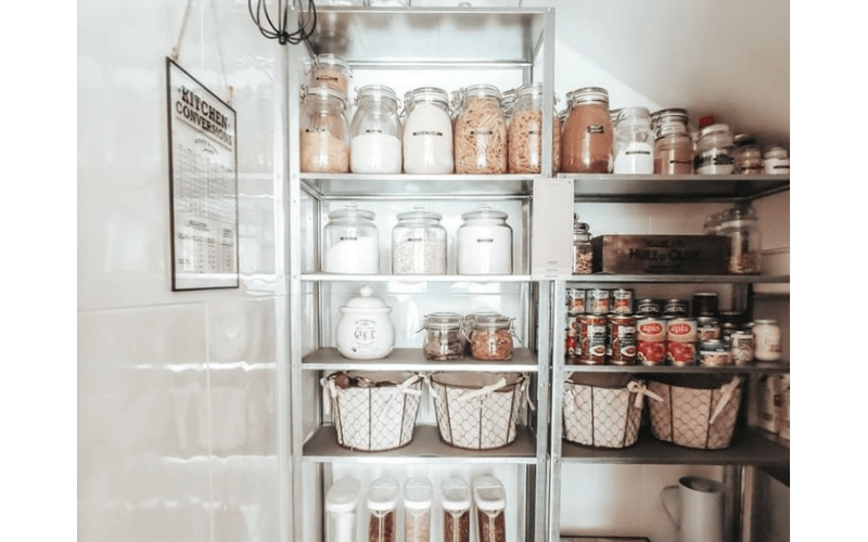 Miriam's Under-the-Staircase Storage Pantry - Image by homemade.charm