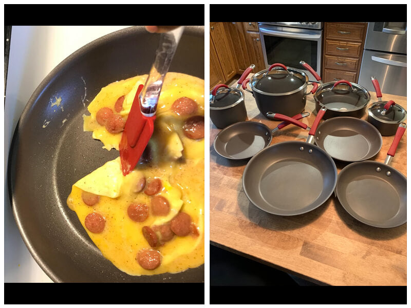 Rachael Ray Cucina Hard Anodized Cookware Set review