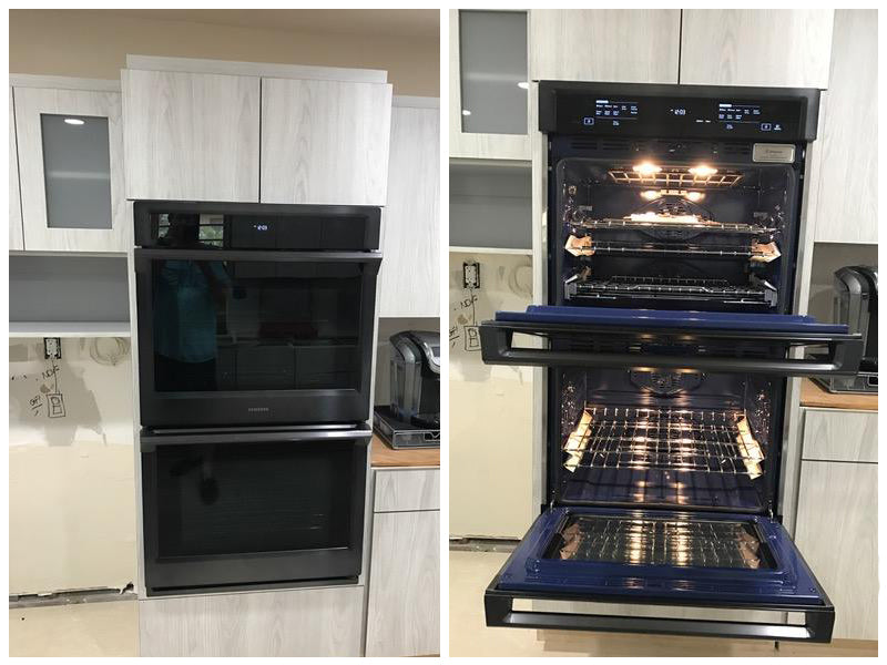 """SAMSUNG 30"""" DOUBLE WALL OVEN WITH STEAM COOK AND WI-FI review"""