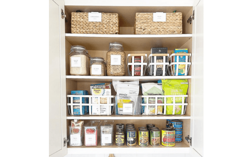 Teresa's Tidy Upper Cabinet - Image by teresa.lifestyled