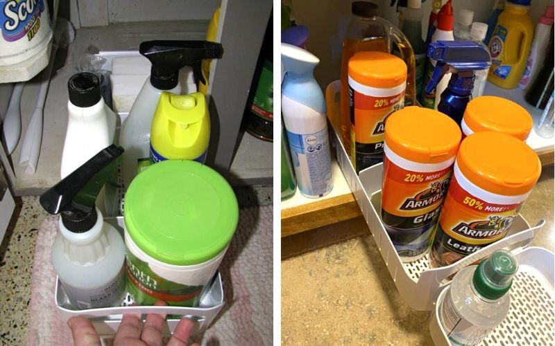 YouCopia RollOut Caddy Under Sink Organizer