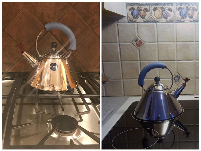 Alessi Stainless Steel Kettle  review