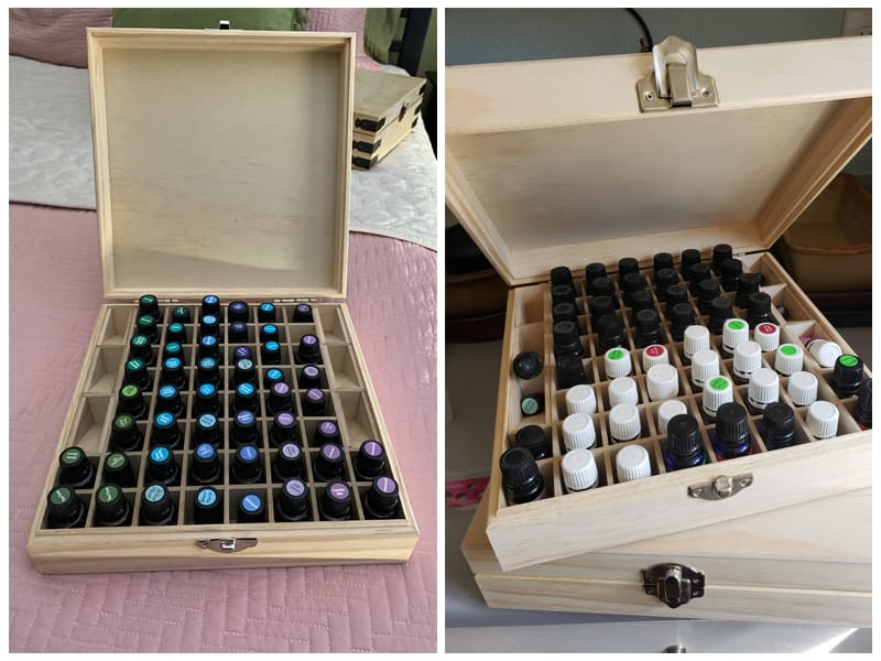 Aroma Designs Wooden Essential Oil Box review