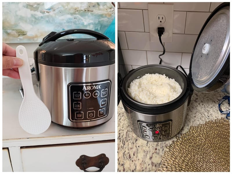 Aroma Dual-Purpose Rice Cooker and Food Steamer review