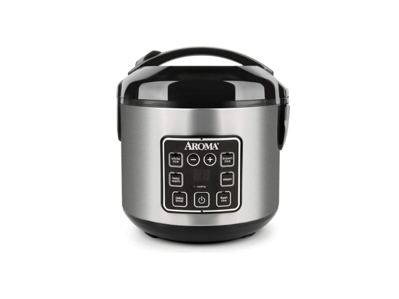 Aroma Dual-Purpose Rice Cooker and Food Steamer