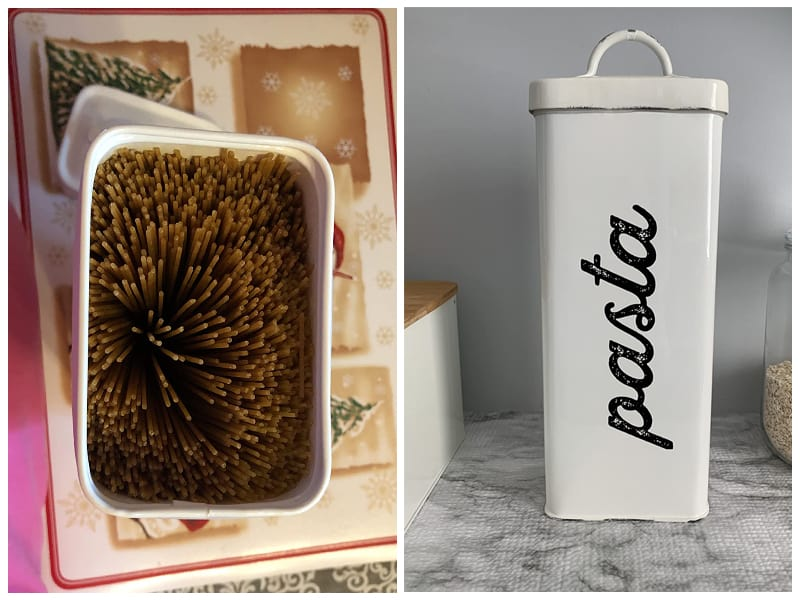 AuldHome Rustic Spaghetti Canister review