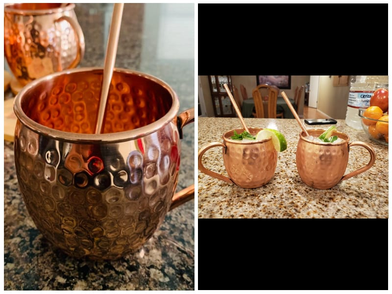 B. Weiss Handcrafted Copper Mugs review