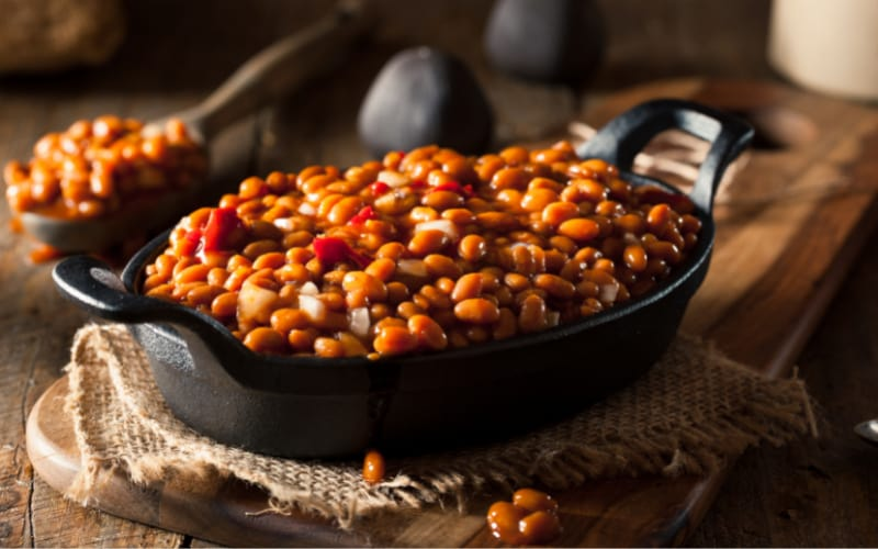 Baked Bean In A Skillet