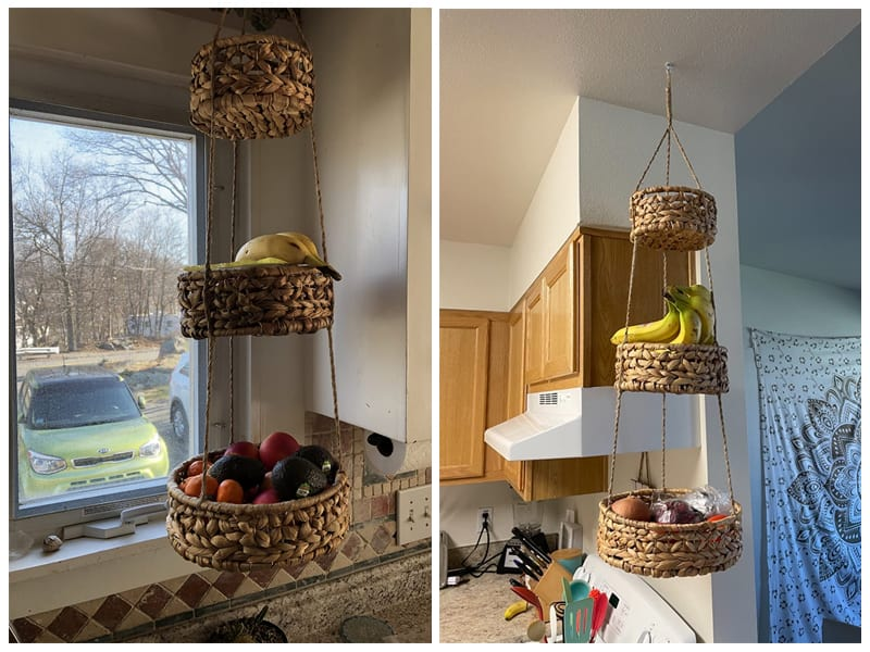 Base Roots Natural Woven Wicker Baskets review