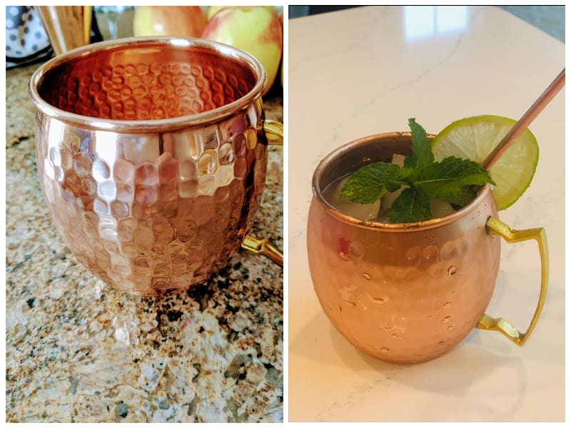 Benicci Moscow Mule Hammered Copper Mugs review