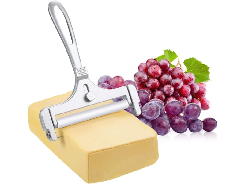 Boao Stainless Steel Wire Cheese Slicer with grapes