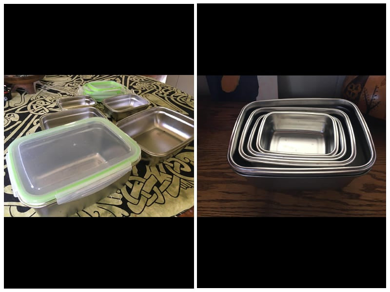 Brandenburg Stainless Steel Food Containers review