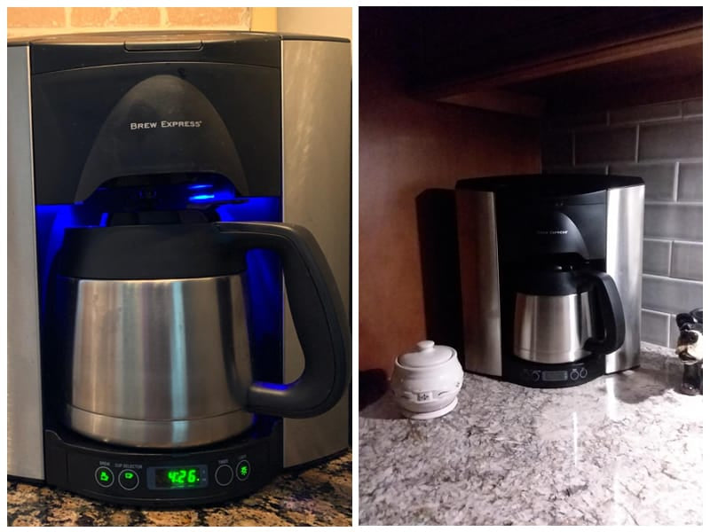 Brew Express Programmable Recessed Coffee Maker
