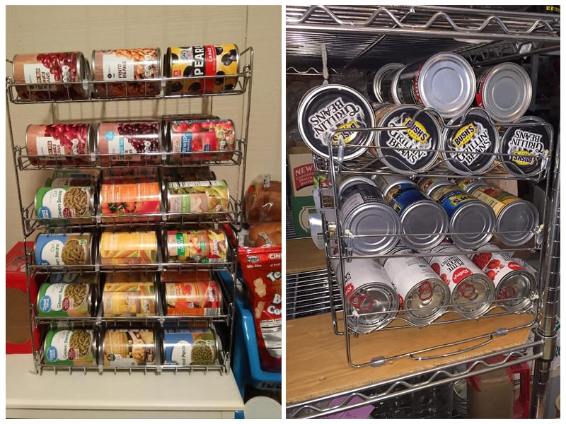 Che'mar Stackable Can Rack Organizer review