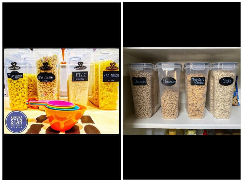 Chef's Path Airtight Dry Food Storage Containers review