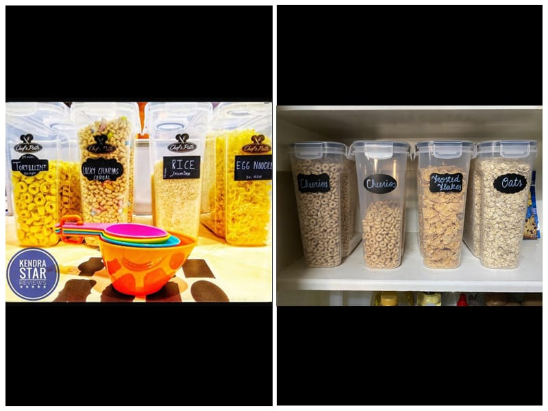 Chef's Path Food Storage Containers  review