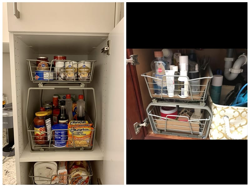 ClosetMaid Two-Tier Kitchen Cabinet Organizer review