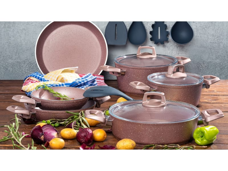 Various cookware for glass top stoves to choose from